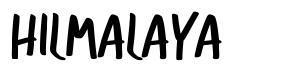 Hilmalaya font