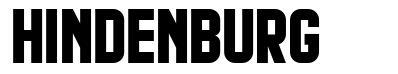 Hindenburg 字形