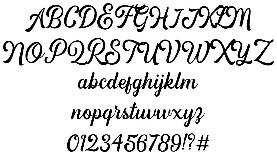 Hipsterious font