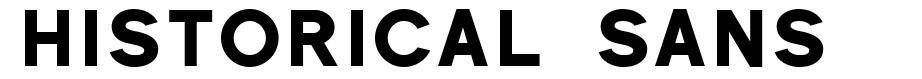 Historical Sans