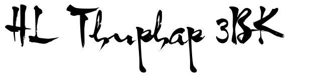 HL Thuphap 3BK font