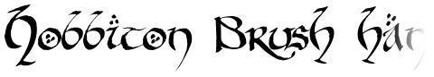 Hobbiton Brush hand