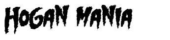 Hogan Mania font