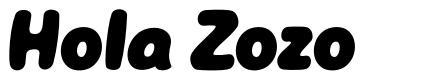 Hola Zozo font