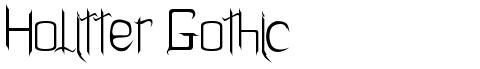 Holitter Gothic