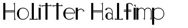 Holitter Halfimp