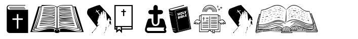 Holy Bible font
