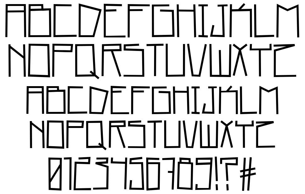 Home Square font