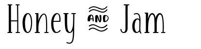Honey & Jam フォント