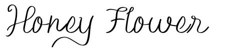 Honey Flower font