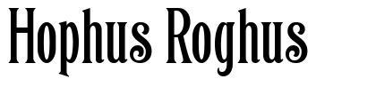 Hophus Roghus