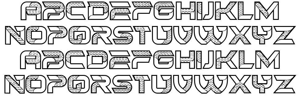 Hornets font