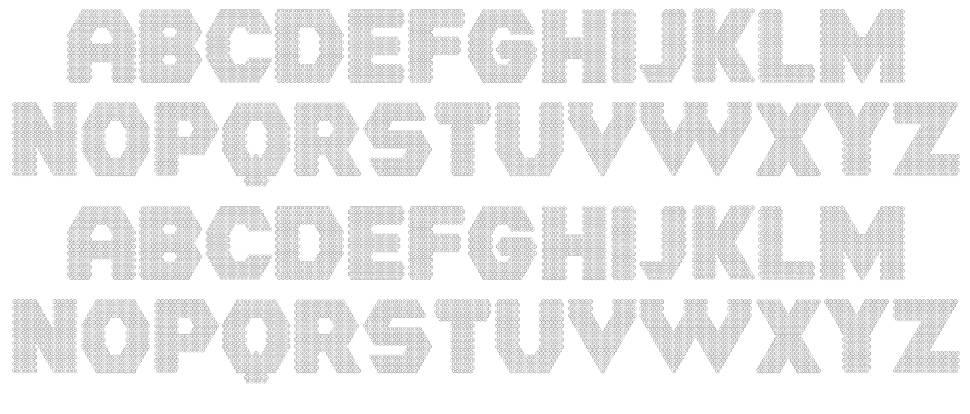 Hornettio шрифт