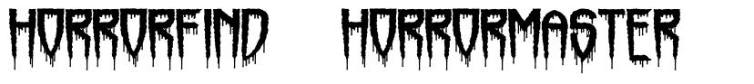 Horrorfind + Horrormaster