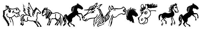 Horsedings font