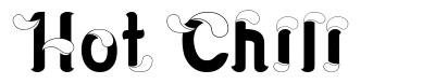 Hot Chili písmo