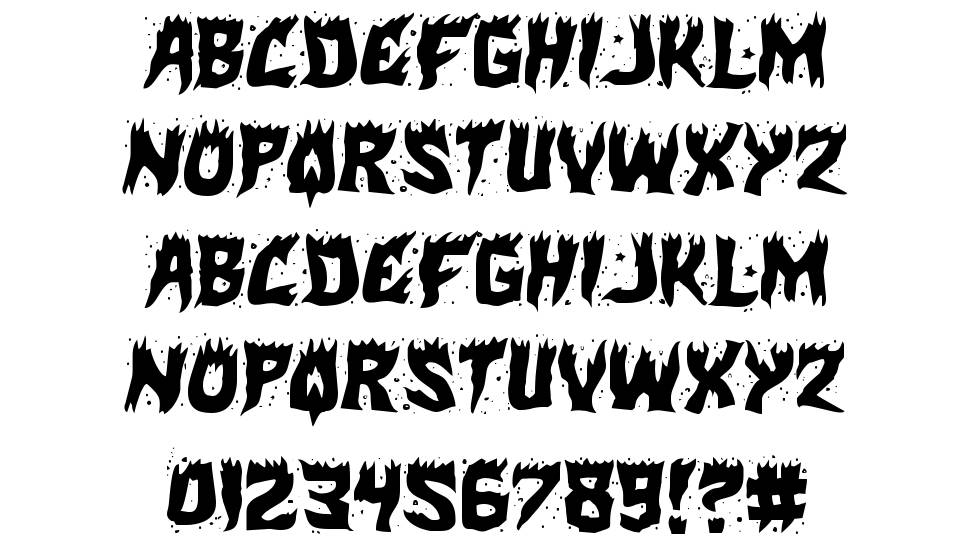 Hot Kiss font