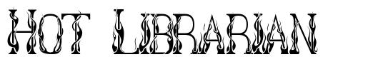 Hot Librarian font