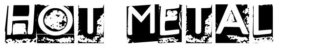 Hot Metal font