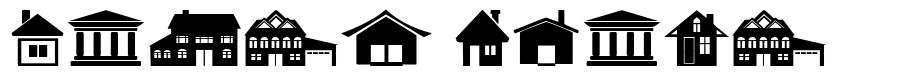 House Icons font