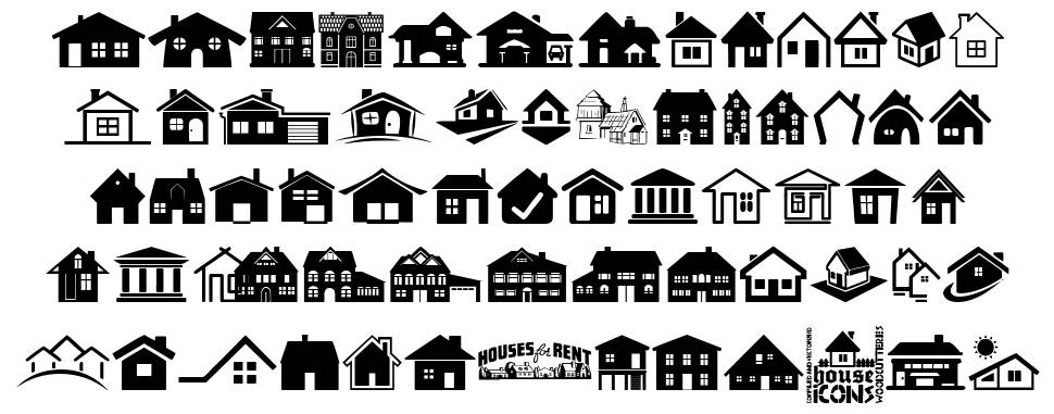 House Icons フォント