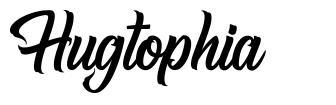Hugtophia font