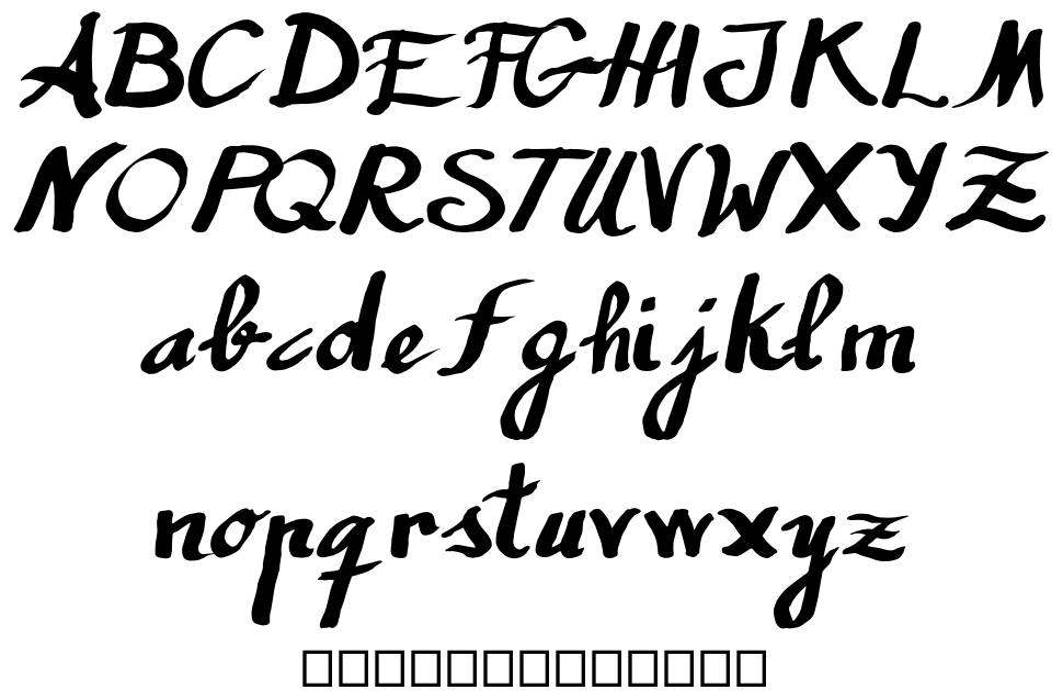 Humana písmo