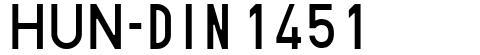 HUN-din 1451