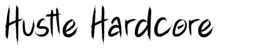 Hustle Hardcore font