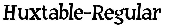 Huxtable-Regular