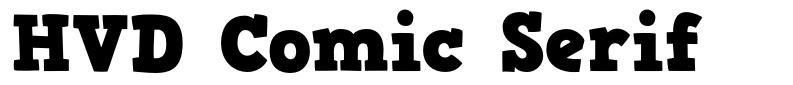 HVD Comic Serif