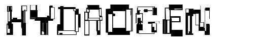 Hydrogen font