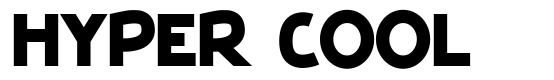 Hyper Cool font