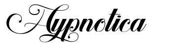 Hypnotica schriftart
