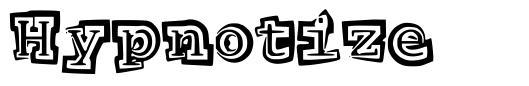 Hypnotize font