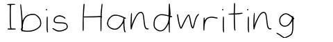 Ibis Handwriting