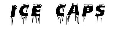 Ice Caps font