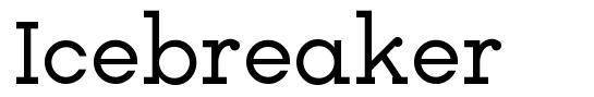 Icebreaker font
