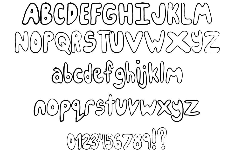IceCreamParty font