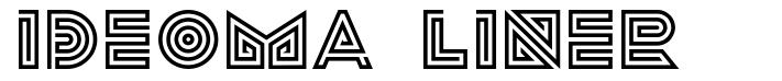 Ideoma Liner font