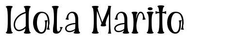 Idola Marito font