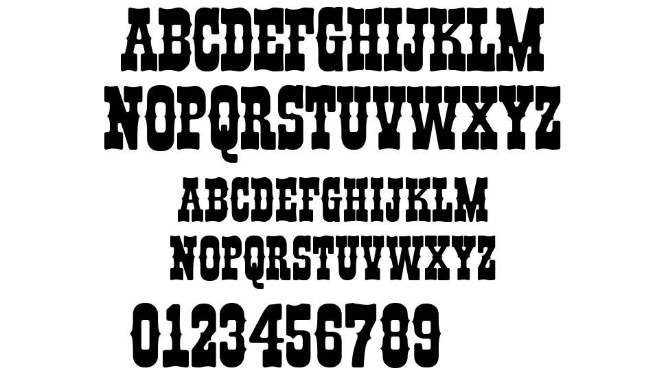 IFC Boothill font