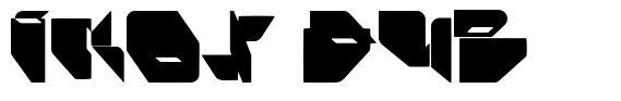 Ikos Dub font