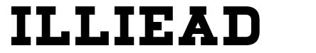 Illiead font