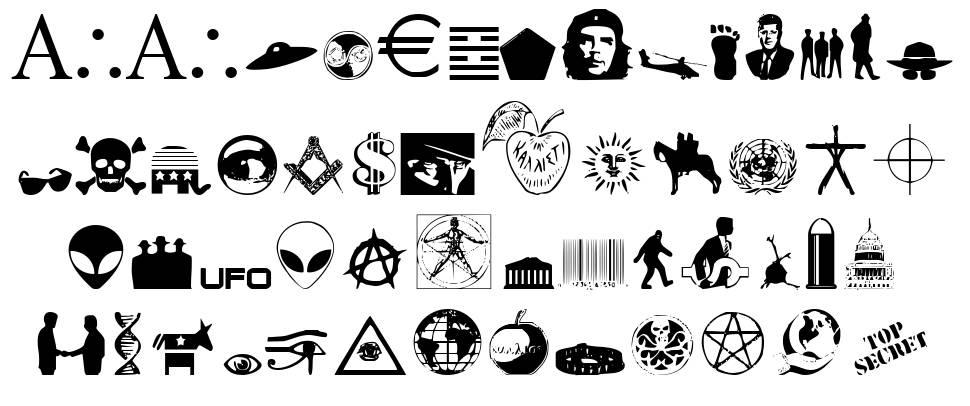 Illuminati font