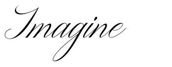 Imagine písmo