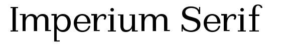 Imperium Serif