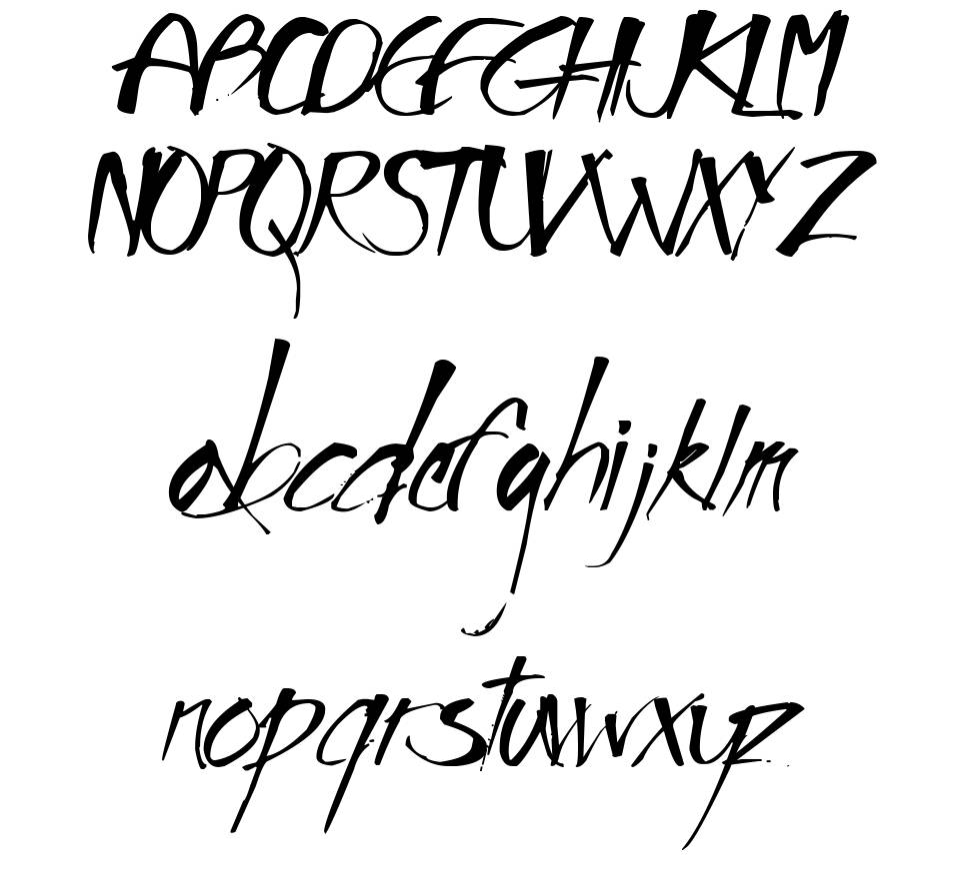 Impronta font