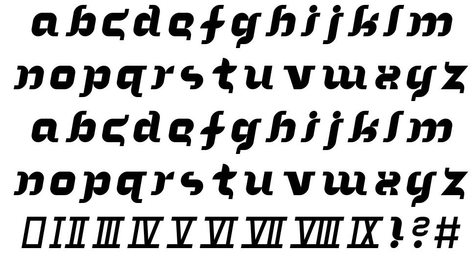 In the Arms of Sleep font