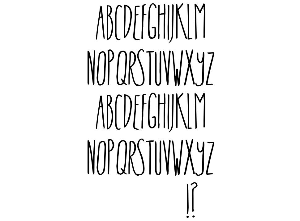 In The Know font